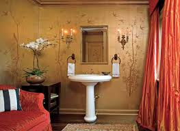 Powder Room Photos - create a smashing powder room traditional home