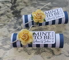 unique wedding favors for guests unique mint wedding favors modwedding