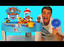 paw patrol water table bath paddlin pups toy reviews