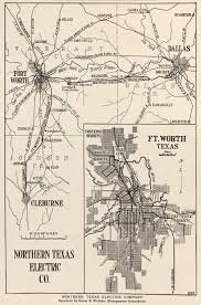 Austin Area Map by Electric Interurban Railways The Handbook Of Texas Online Texas