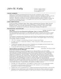 Summary Example For Resume by 85 Key Competencies Examples For Resume Risk Management