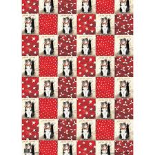 cat wrapping paper christmas cat gift wrap designer cat wrapping by alex clark