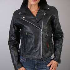 best bike leathers leathers ladies braided motorcycle jacket
