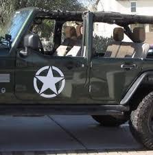 jeep wrangler grips 2 decal sticker for jeep wrangler rubicon army jk bar arm