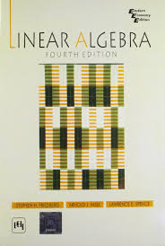 buy linear algebra book online at low prices in india linear