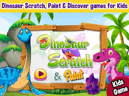 dinosaurs scratch u0026 color dinosaur games free android apps on