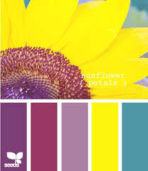 Yellow Color Combinations 100 Best Yellow Violet Color Complements Images On Pinterest