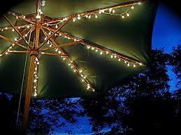 Patio Umbrella String Lights Would Lights My Patio Umbrella Plants Garden