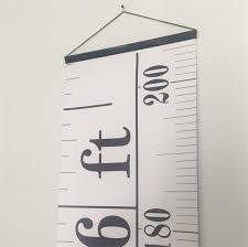 hanging picture height tape measure hanging height chart ruler growth chart imperial