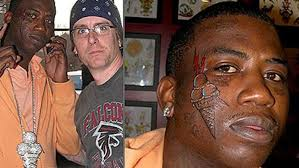 ice cream on face tattoo ice cream