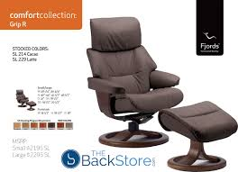 Recliner Office Chair Fjords Grip Ergonomic Leather Recliner Chair Ottoman