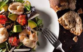 shrimp salad with champagne beurre blanc jean georges restaurants