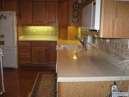 how to install tile backsplash rta pantry cabinet granite
