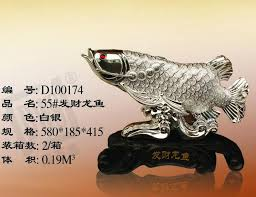 wedding gift opening lucky arowana large living room ornaments fashion accessories