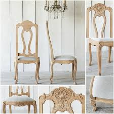 Oak Dining Chairs One Of A Kind Antique French Oak Dining Chairs Set Of 6 1880