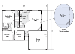 great room floor plans the douglas custom home floor plan adair homes