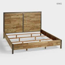Adrian Bedroom Set Rooms To Go Wood And Metal Aiden Bed World Market