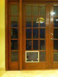 Doggy Doors For Sliding Glass Doors by Patio French Doors With Dog Door Patio Decoration