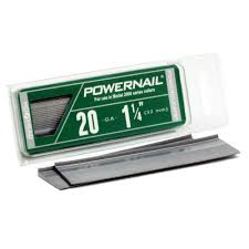 powernail 1 1 4 in 20 hardwood flooring cleat 1000 pack