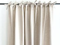 Smocked Burlap Curtains Smocked Jute Curtains Smocked Linen Drapery Panels Smocked Burlap