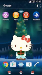 hello kitty themes for xperia c download hello kitty christmas theme apk 1 0 0 jp lecre theme
