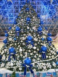 christmas decor at wafi mall in dubai uae u2013 stock editorial photo