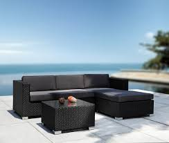 modern patio sectional sofa and coffee table