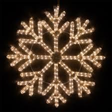 snowflakes 24 led 40 point snowflake warm white lights