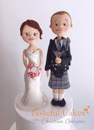 tasteful cakes by christina georgiou scottish themed