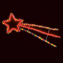 shooting star icicle lights multi function shooting star christmas decoration