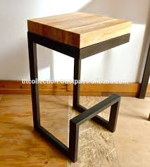 Wood And Metal Bar Stool Bar Stools Best 25 Wooden Bar Stools Ideas Only On Pinterest