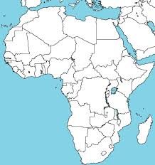 Blank Physical Map Of Africa by Blank Map Of Africa