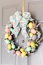 how to make an easter egg wreath easter egg wreath a pumpkin and a princess