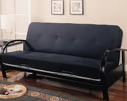 Replacement Futon Covers Mainstays Metal Arm Futon With Mattress Black Roselawnlutheran