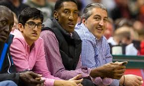 president obama sent scottie pippen a birthday card for the win