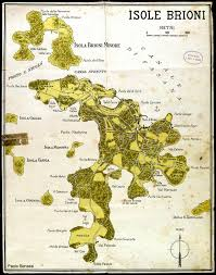Trieste Italy Map by Istria On The Internet Cartography Vintage Maps