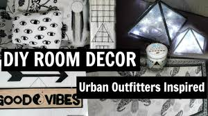 diy urban outfitters room decor 2016 meelsa14 youtube