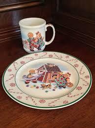christmas plate longaberger roger and christmas plate and mug