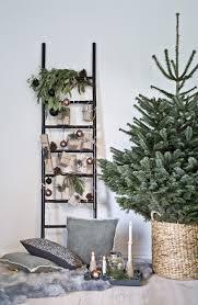 so funktioniert der look nordische weihnachten deko leitern