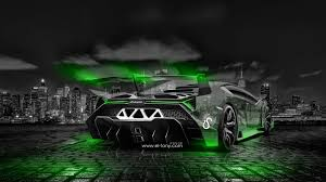 lamborghini green and black lamborghini veneno city car 2014 el tony