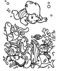 lilo diving hawaiian reefs lilo u0026 stitch coloring