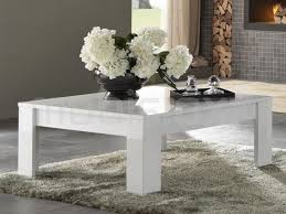 table basse madonna carrée blanc laque chez mobistoxx