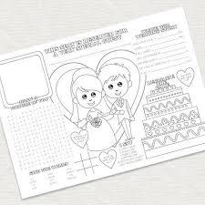 89 kid u0027s wedding activity books images kid