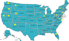 Ohio Map Us by The 50 State Challenge My Favourites In The United States So Far
