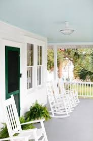 porch lighting offers both safety style to vacation cottage