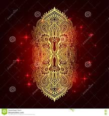 vector indian hamsa with ethnic ornaments beautiful