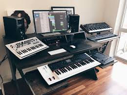 Producer Studio Desk by Spotted Platform Desk In Your Studios Output
