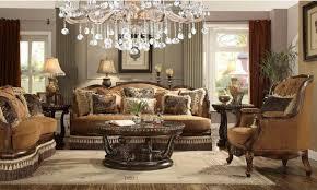 9344 homey design upholstery living room set victorian european