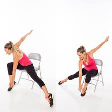 Armchair Aerobics For Elderly Seated Full Body Workout Routine Shape Magazine
