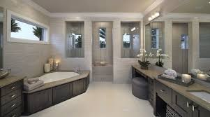 bathroom rectangle white surrounded tile corner bathroom design
